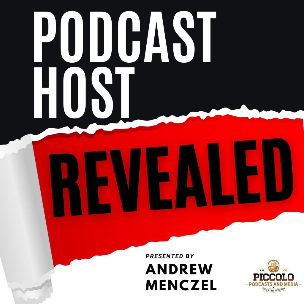Podcast Host Revealed logo